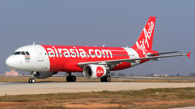 A picture of VTIXR - Airbus A320214 - AirAsia - © Sriram Hariharan