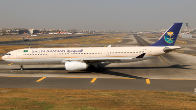HZ-AQF - Airbus A330-343 - Saudi Arabian Airlines