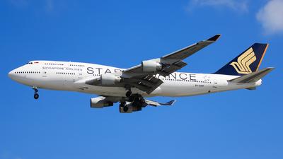 9V-SPP - Boeing 747-412 - Singapore Airlines