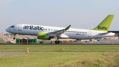 YL-AAS - Airbus A220-371 - Air Baltic
