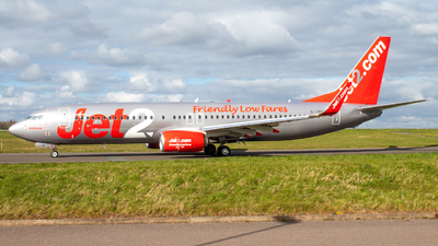A picture of GJZHP - Boeing 7378MG - Jet2 - © FinnStarkie