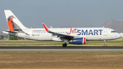 CC-AWC - Airbus A320-232 - JetSmart