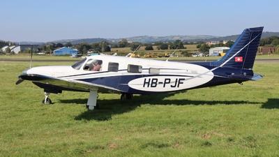 HB-PJF - Piper PA-32R-301T Saratoga II TC - Private
