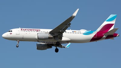 D-AEWI - Airbus A320-214 - Eurowings