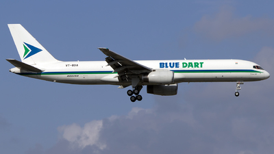VT-BDA - Boeing 757-25F(SF) - Blue Dart Aviation