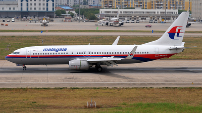 9M-MLG - Boeing 737-8FZ - Malaysia Airlines