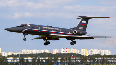 RF-12037 - Tupolev Tu-134UBL - Russia - Navy