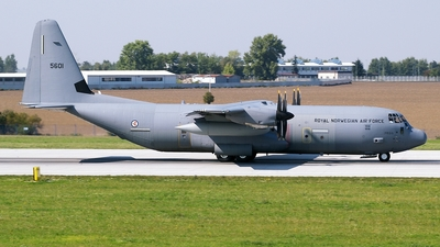 5601 - Lockheed Martin C-130J-30 Hercules - Norway - Air Force