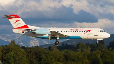 OE-LFH - Fokker 70 - Austrian Airlines
