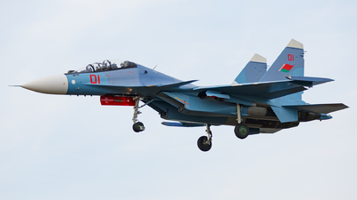 01 - Sukhoi Su-30SM - Belarus - Air Force