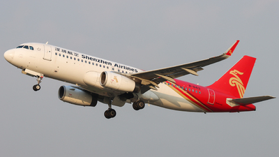A picture of B8413 - Airbus A320232 - Shenzhen Airlines - © ZHHH_CAVOK
