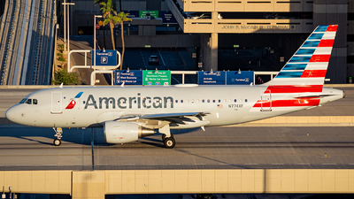 A picture of N774XF - Airbus A319112 - American Airlines - © Alexander Owen
