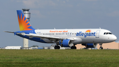 A picture of N234NV - Airbus A320214 - Allegiant Air - © DJ Reed - OPShots Photo Team