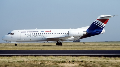 F-GLIS - Fokker 70 - Air France/Air Inter Express (Air Littoral)