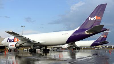 A picture of N678FE - Airbus A300F4605R - FedEx - © Agustin Anaya