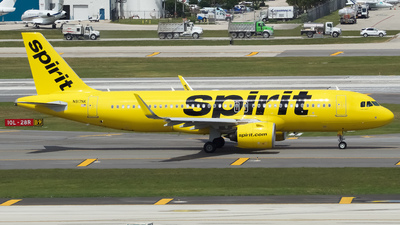 A picture of N917NK - Airbus A321271N - Spirit Airlines - © Sebastian C