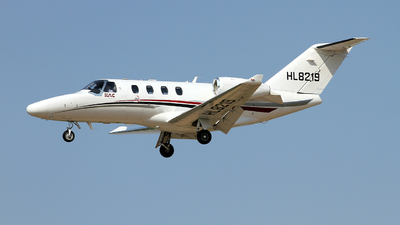 HL8219 - Cessna 525 CitationJet M2 - Korea Airports Corporation