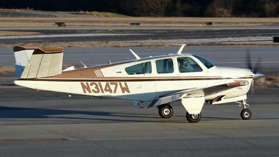 N3147W - Beechcraft V35B Bonanza - Private