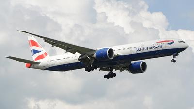 G-STBK - Boeing 777-336ER - British Airways