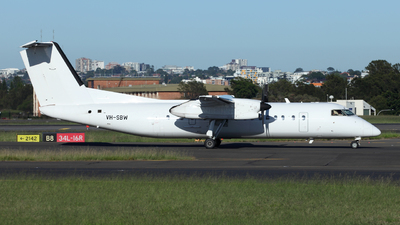 VH-SBW - Bombardier Dash 8-315 - Eastern Australia Airlines