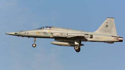10-580 - Northrop KF-5E Jegongho - South Korea - Air Force