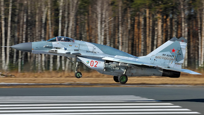 RF-92923 - Mikoyan-Gurevich MiG-29SMT Fulcrum - Russia - Air Force