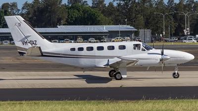 A picture of VHTAZ - Cessna 441 - [4410005] - © TreyJPearson
