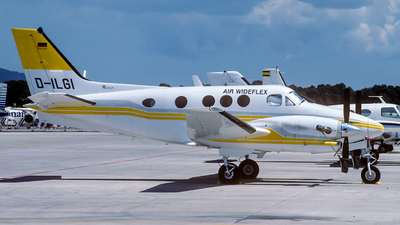 D-ILGI - Beechcraft C90 King Air - Air Wideflex