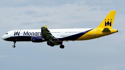 G-MARA - Airbus A321-231 - Monarch Airlines