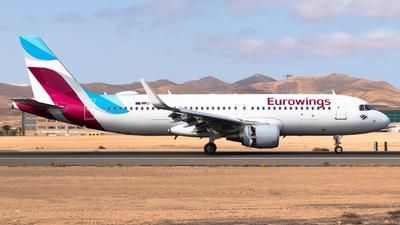 A picture of DAEWP - Airbus A320214 - Eurowings - © Pablo Gonzalez de Leon