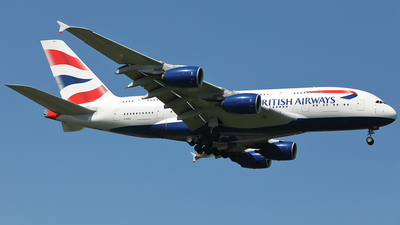 G-XLEJ - Airbus A380-841 - British Airways