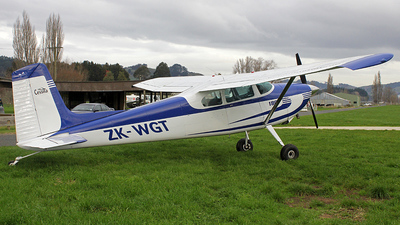 ZK-WGT - Cessna 180 Skywagon - Private