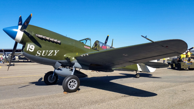 NL49FG - Curtiss P-40N Warhawk - Private