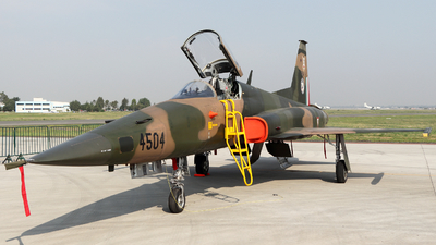 4504 - Northrop F-5E Tiger II - Mexico - Air Force