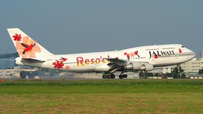 JA8186 - Boeing 747-346 - JALways