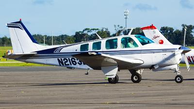 A picture of N2163L - Beech A36 Bonanza - [E903] - © Orlando Suarez