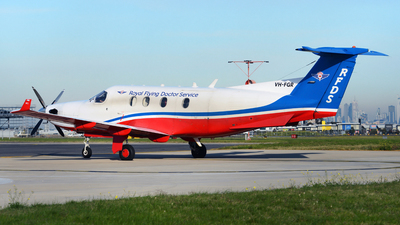 A picture of VHFGR - Pilatus PC12/45 - [438] - © George Canciani