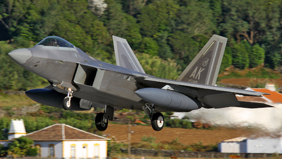 07-4148 - Lockheed Martin F-22A Raptor - United States - US Air Force (USAF)