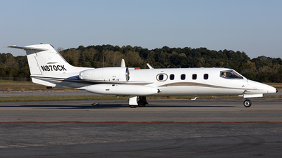 A picture of N870CK - Learjet 35A - Kalitta Charters - © PeachAir