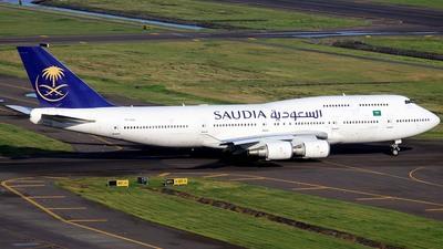 TF-AAJ - Boeing 747-428 - Saudi Arabian Airlines (Air Atlanta Icelandic)