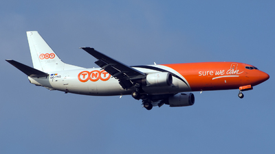OO-TNQ - Boeing 737-4M0(SF) - TNT Airways