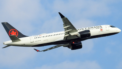 A picture of CGTZH - Airbus A220300 - Air Canada - © WorldTraveler225