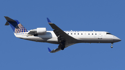 N466AW - Bombardier CRJ-200LR - United Express (Air Wisconsin)