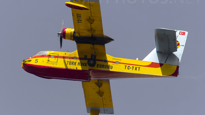 TC-TKT - Canadair CL-215 - Turkey - Turkish Aeronautical Association
