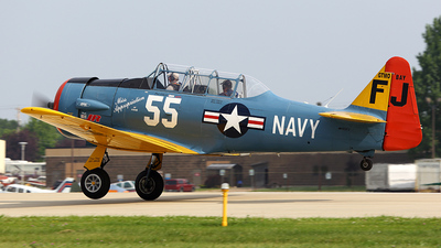 N5FJ - North American AT-6 Texan - Private