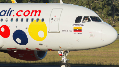 HK-5319 - Airbus A320-214 - Viva Air Colombia