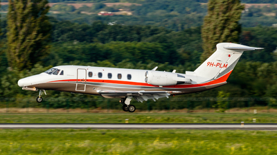 9H-PLM - Cessna 650 Citation VI - Luxwing
