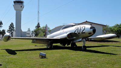 FAU202 - Lockheed T-33A Shooting Star - Uruguay - Air Force