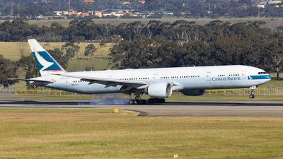 B-KQV - Boeing 777-367ER - Cathay Pacific Airways