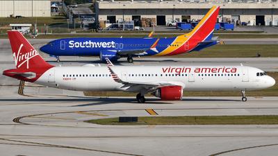 N921VA - Airbus A321-253N - Virgin America
